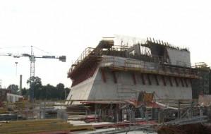 1 września odwiedziliśmy budowę Muzeum II Wojny Światowej