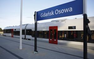 Stacja w Osowej zmienia oblicze. Nowy dojazd, parking i perony