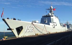 Chińskie okręty wpłynęły do gdyńskiego portu