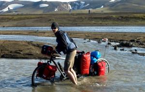 Rowerowa wyprawa przez ogień i lód Islandii