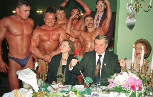 Tak się bawiły elity na konkursach piękności w Cristalu