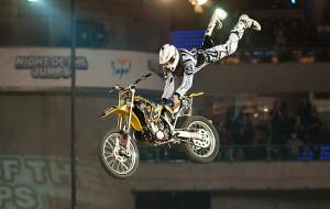 Motocyklowi akrobaci ponownie w Ergo Arenie