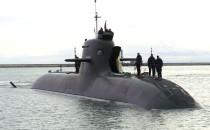 Niemiecki okręt podwodny odwiedził Gdynię