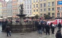 Burzliwy przebieg gdańskiej manifestacji...