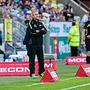 Trener Lechii nie odpowiadał na pytania