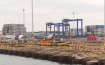 DCT zakończyło palowanie pod nowy terminal