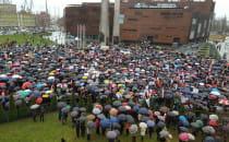 Kilka tysięcy uczestników wiecu Obywatele...