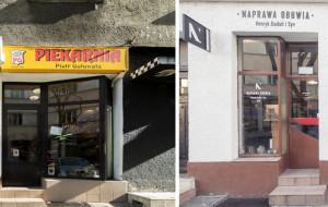 W centrum Gdyni pojawiły się szyldy retro