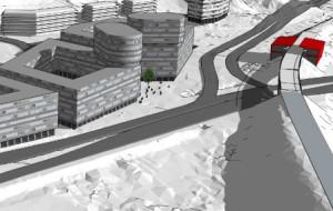 Wizja nowego centrum Niedźwiednika. Plan do wglądu