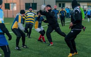 Noworoczny mecz rugbistów i jubileusze