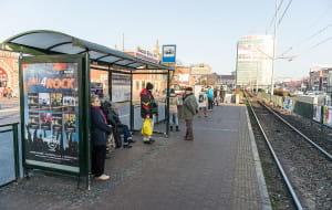 Na autobus poczekasz pod dachem. Nowe wiaty przystankowe w Gdańsku