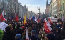KOD po raz czwarty demonstrował w Gdańsku....