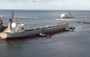 Więcej zboża, mniej kontenerów. Gdyński port podsumował  ubiegły rok
