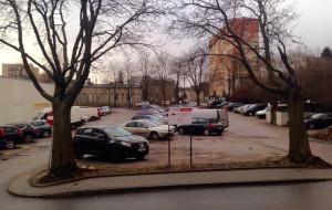 Nowy wysoki budynek na Witominie
