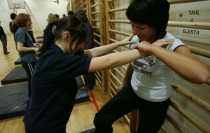 Kung Fu Panna nauczy kobiety samoobrony