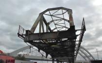 Ruszyła rozbiórka 100-letniego mostu...