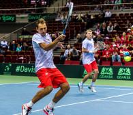 Polscy tenisiści wygrali debla w Davis Cup