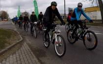 Uczcili pamięć zmarłego rowerzysty
