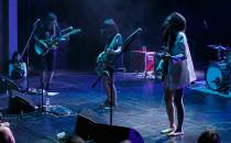 Energetyczne Japonki dały koncert w teatrze