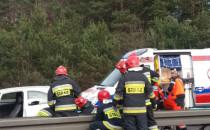 Wypadek motocyklisty na obwodnicy