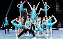 Pięć medali MP gdańskich cheerleaderek