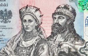Mieszko I i Dobrawa na banknocie