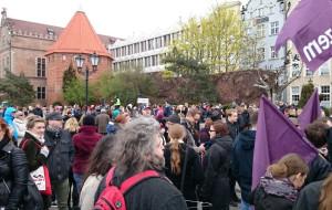 Gdańsk: pikieta przeciw zaostrzeniu przepisów antyaborcyjnych