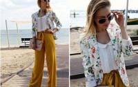 Biała koszula w wiosennych stylizacjach