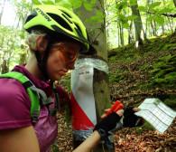 Znajdź Pazur Gryfa na rowerze lub pieszo