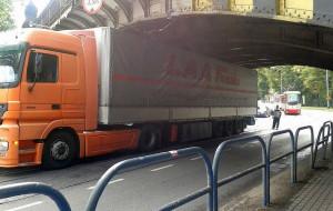 Od środy ciężarówki nie wjadą na al. Hallera