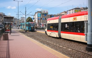 Nietypowa zapowiedź przystanku tramwajowego