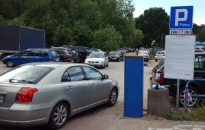 Ciąg dalszy chaosu na nadmorskich parkingach