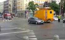 Zerwana trakcja trolejbusowa w centrum Gdyni