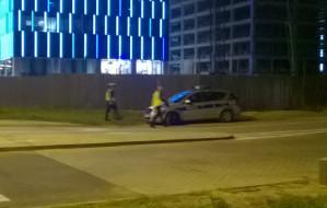 Nielegalne wyścigi w Oliwie. Na oczach policji