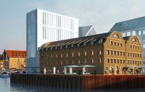 Nowa wizja hotelu na Wyspie Spichrzów