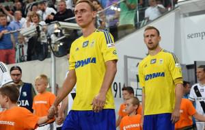 Stena Line na koszulkach piłkarzy Arki