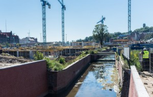 Forum Gdańsk wyrasta z ziemi. Prace już na półmetku
