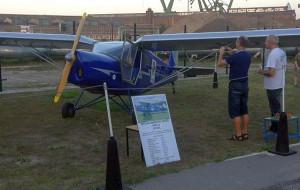 Rodzinny festyn lotniczy we Wrzeszczu