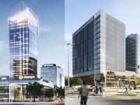 Obok siebie powstają dwa największe biurowce w Trójmieście