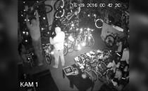 Zuchwały napad na sklep z rowerami