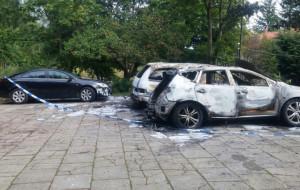 Podejrzany o podpalenie aut w Oliwie aresztowany