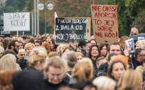 Kobiety protestowały w Gdańsku, Gdyni i...