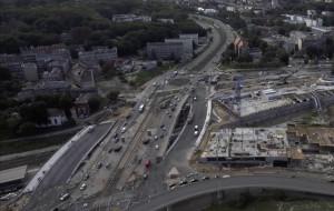 Nowa jezdnia wiaduktu na Armii Krajowej czeka na kierowców