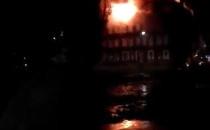 Nocny pożar kamienicy na Dolnym Mieście