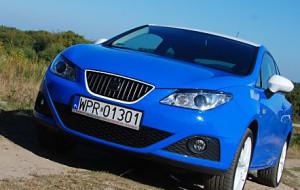 Seat Ibiza SC 1.6. Na niebiesko