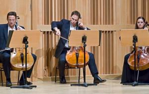 Prawie Filharmonia Berlińska - po koncercie sekcji wiolonczel tej orkiestry