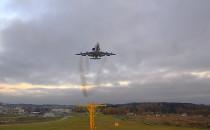 Samolot AWACS nad Trójmiastem