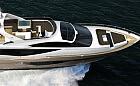 Nowy jacht motorowy  z gdańskiej stoczni