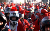 1600 mikołajowych motocykli przejechało...
