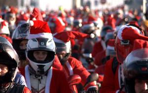 1600 mikołajowych motocykli przejechało przez Trójmiasto
